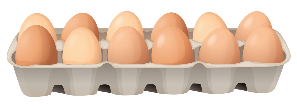 Your eggs should be indistinguishable from each other Egg Roulette